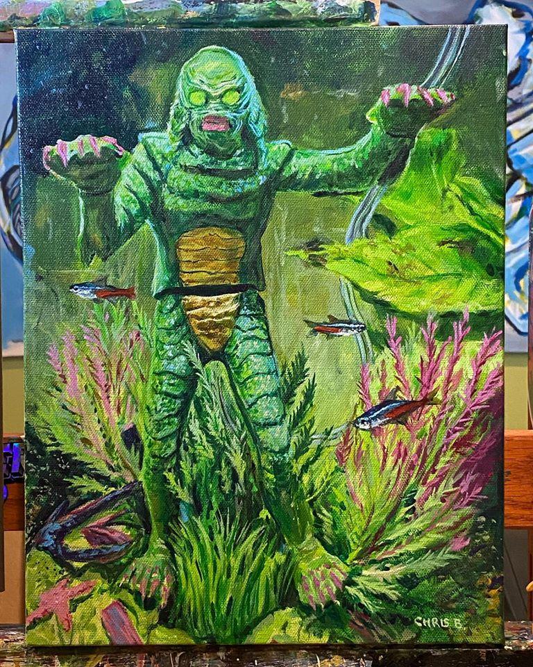 Creature from the Green Aquarium